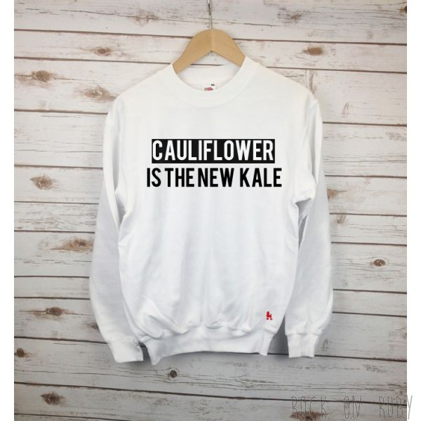 Cauliflower Sweater / Rock On Ruby Gym Jumper