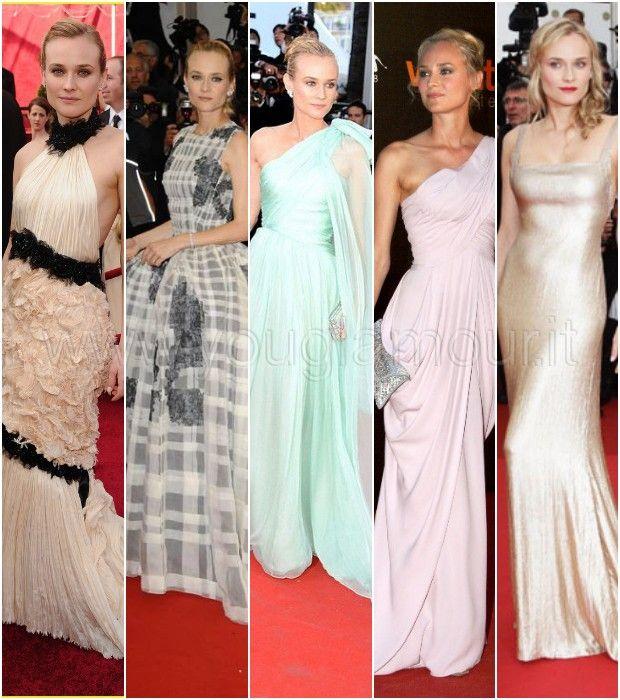 Lo stile alla moda e cool di Diane Kruger
