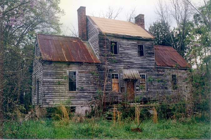 Before: Cabaniss-Hungerford-Haberry House, Jones County ...