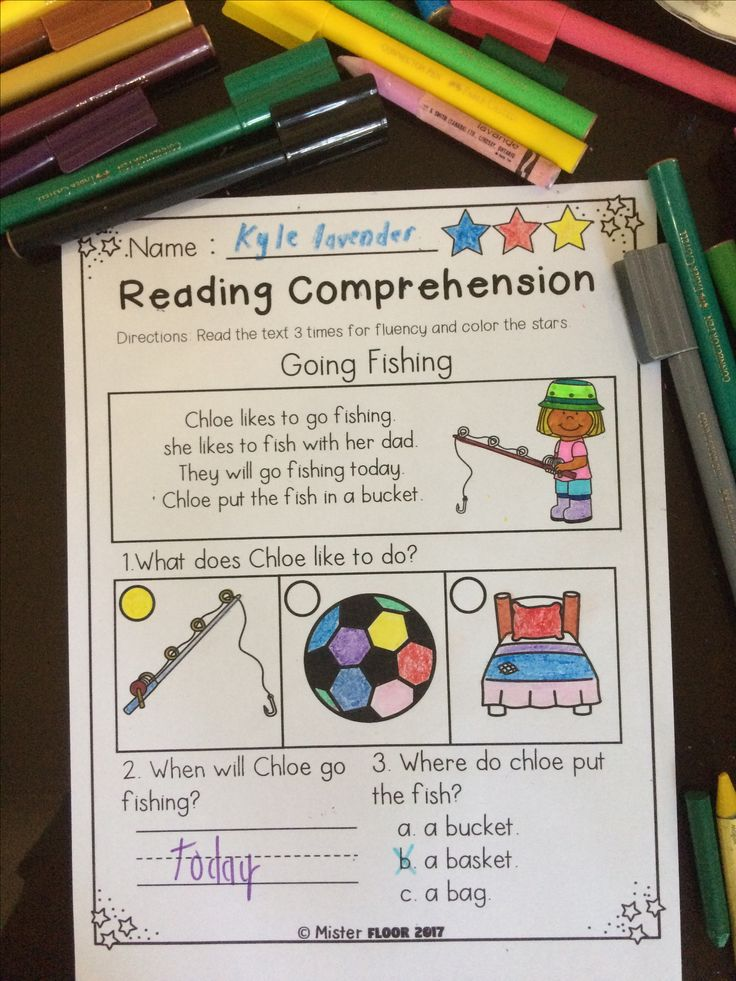 Theese Reading Comprehension Packet is filled with 20 pages to help build comprehension and designed for emergent readers and early readers and is perfect for K-1 students.  This reading comprehension packets include the following activities: -Read 3 times for fluency -Short answer questions -Fill in the blank questions -Multiple choices  If you have anything to ask please email me at: misterfloor.tpt@gmail.com