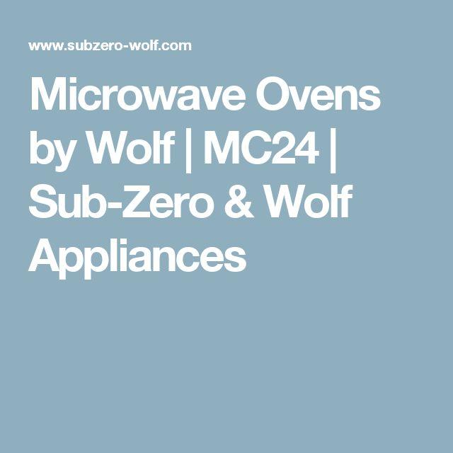 Microwave Ovens by Wolf | MC24 | Sub-Zero & Wolf Appliances