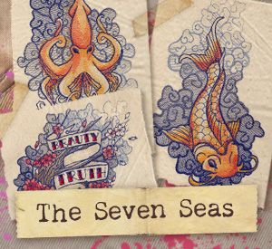 The Seven Seas (Design Pack)   Urban Threads: Unique and Awesome Embroidery Designs, combining my two hobbies, tats and embroidery