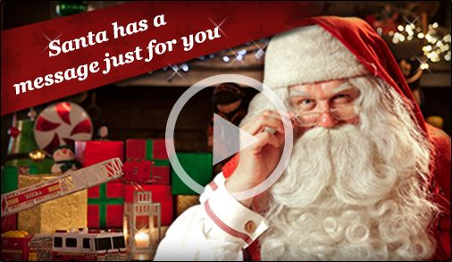 "FREE, Fun, Santa Activities for Kids! Get personalized video messages from Santa, phone calls from Santa, Santa tracking, Elf yourself, check Santa's good list, watch Santa feed his reindeer LIVE on CAM, create an ""i caught Santa photo,"" and MUCH MORE!"