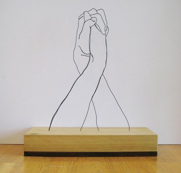 Lines – Sculptures by Gavin Worth.