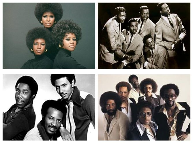 In the 60s and 70's we saw an emergence of R&B groups like the Temptations, the O'Jays, the Commodores and the Supremes?  What is your ultimate favourite R&B group of that era?