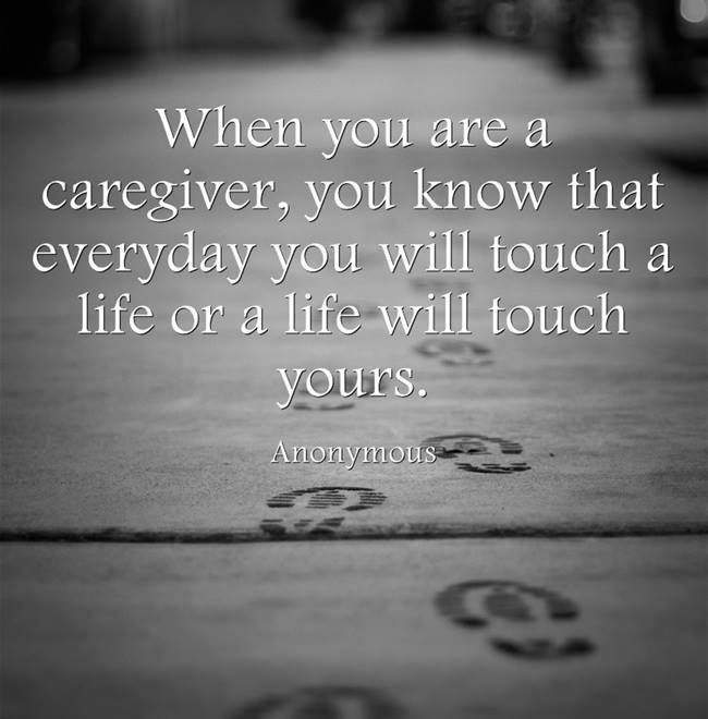 Thank You Quotes For Caregivers: Caregivers Poems And Quotes. QuotesGram
