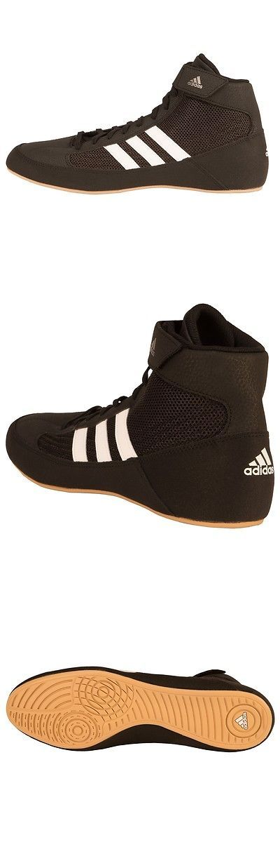 Shoes and Footwear 73989: New Men S Adidas Hvc Boxing Shoes Mid-Top Size: 10.5 Color: Black -> BUY IT NOW ONLY: $79.95 on eBay!