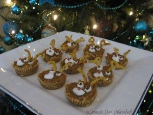Reindeer Tarts. Suitable for the Failsafe diet.
