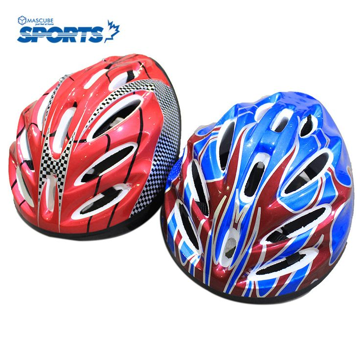 Man Women Comfort Safety Helmets Ultralight Mountain Accessories Head Protect High Quality Blue/Red Color