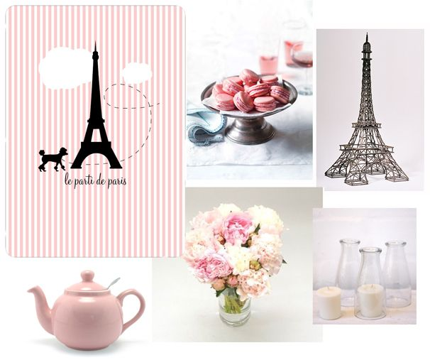 for some reason I really want to decorate Savannah's room in a paris theme...