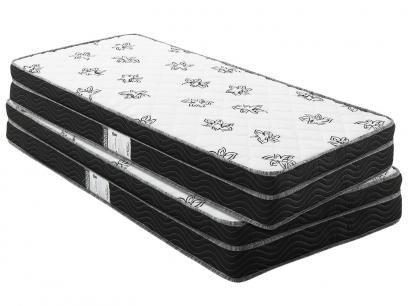 Colchão Solteiro Ortobom Mola 88x188cm - Physical Mônaco com as melhores condições você encontra no Magazine Edmilson07. Confira!