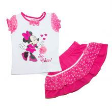 Set 4 Bluza MS-fusta Minnie - roz