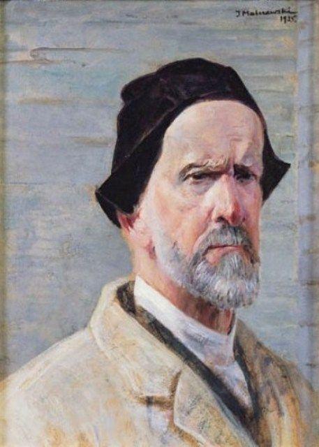 Jacek Malczewski - Self-portrait (1925)