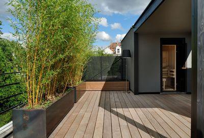 Toit terrasse bois : aménager son toit en terrasse à vivre - CôtéMaison.fr