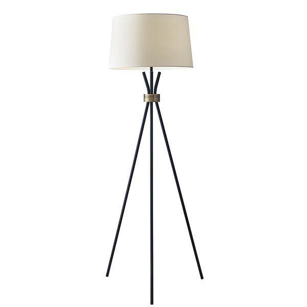 Benson 60 tripod floor lamp
