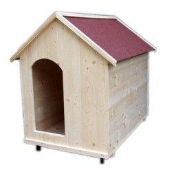Cuccia in legno per cani da esterno con piedini DALA