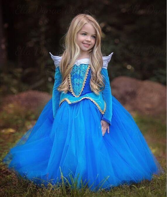 $18.49 (Buy here: https://alitems.com/g/1e8d114494ebda23ff8b16525dc3e8/?i=5&ulp=https%3A%2F%2Fwww.aliexpress.com%2Fitem%2FFree-Shipping-Retail-Princess-Dress-Children-Dresses-Summer-Dress-Elsa-Dress-2016-Costume-Party-Princess-Princess%2F32667703550.html ) Free Shipping Retail Princess Dress Children Dresses Summer Dress Elsa Dress 2016 Costume Party  Princess Princess Aurora Blue for just $18.49