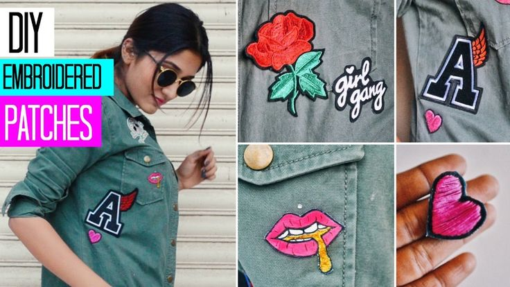 15 Great Ways to Make Homemade Patches Diy patches