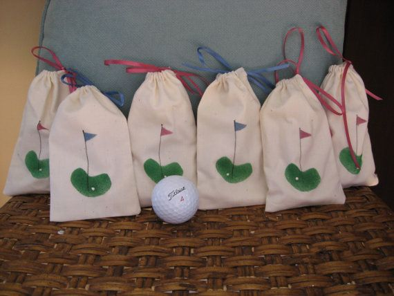 Tee Bags for Your Ladies' Golf Events by CoastalMarketing on Etsy, $3.50