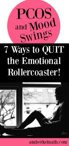PCOS and Mood Swings...don't you always feel you are on the emotional rollercoaster? #pcos #pcosmoodswings