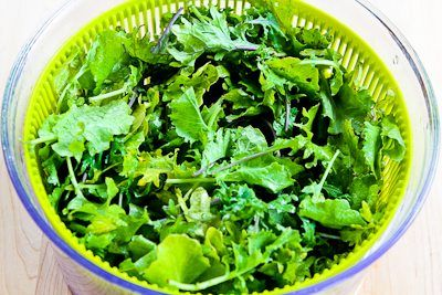 Kalyn's Kitchen: Recipe for Macaroni with Greens, Lemon, and Parmesan
