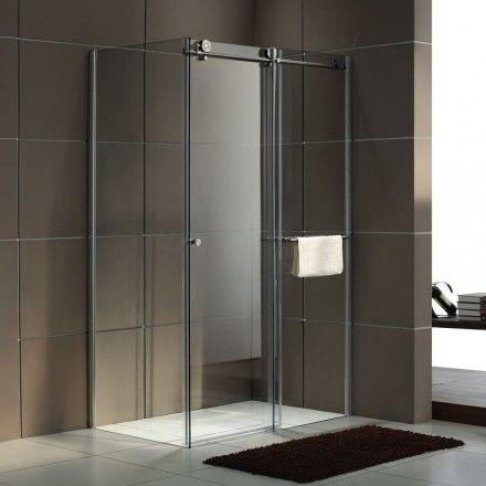 17 meilleures id es propos de paroi de douche coulissante sur pinterest c - Paroi douche coulissante 160 ...