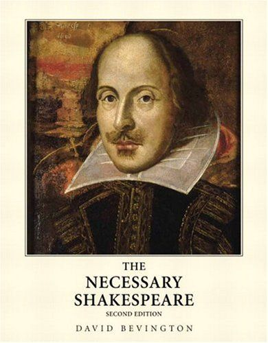 The Necessary Shakespeare by David Bevington. The Necessary Shakespeare holds all of the essential plays, sonnets, and little prose written by Shakespeare with detailed edits. Bevington includes in-text references, and also pre and post text information. He also includes some biographical and historical contexts. Lexile Measure: 980L (Below Grade Level.) 11-12th grade.