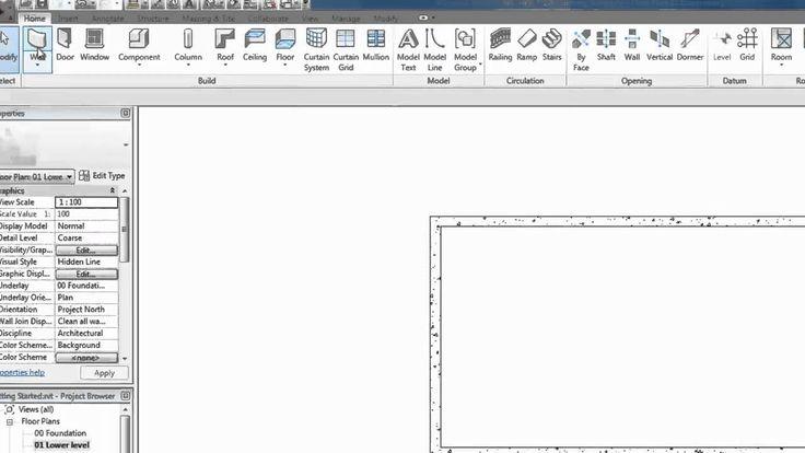 Autodesk Revit Tutorials: 02 Making Walls
