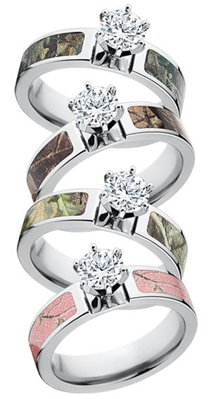 Best I want a Realtree Camo Engagement Ring realtree camoengagementrings camoweddingrings camoweddings