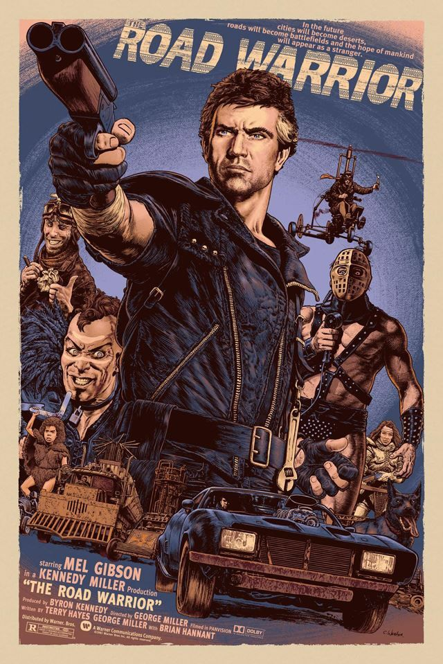 Mad Max, The Road Warrior ~ Mel Gibson.