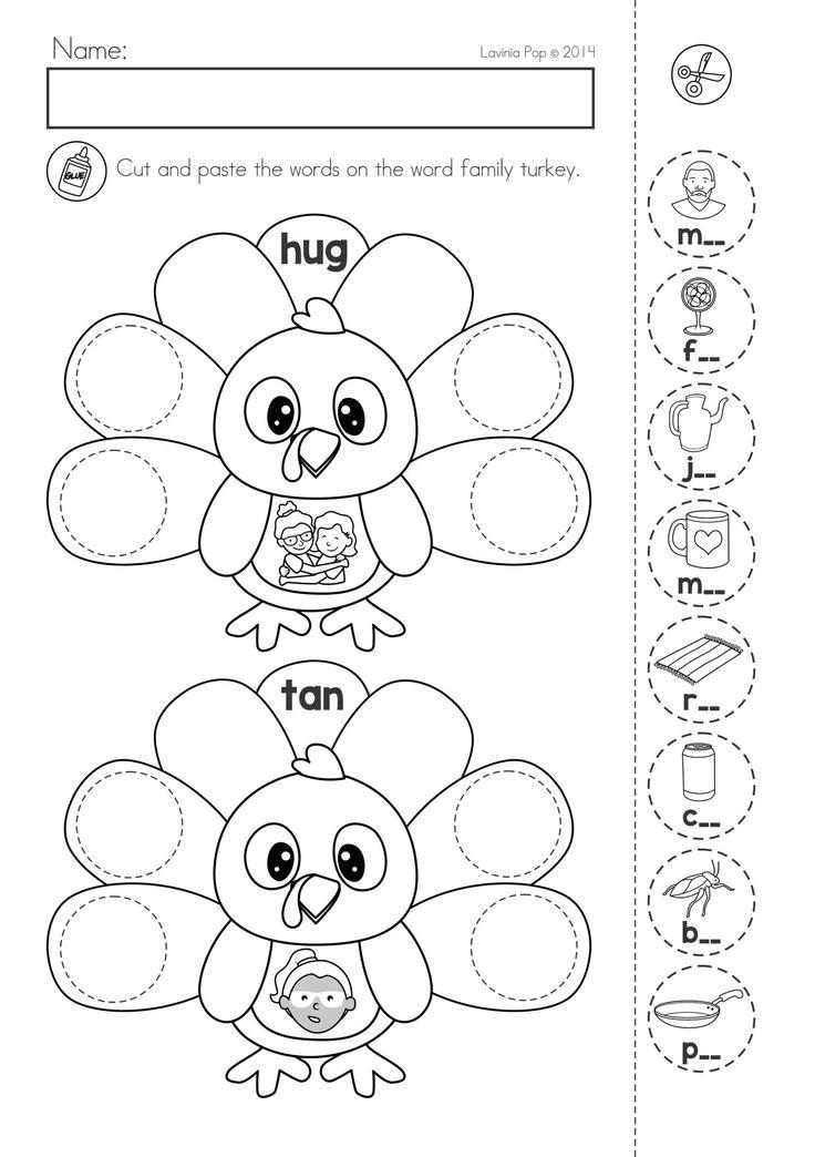7 Farm Animals theme toddlers children school worksheets
