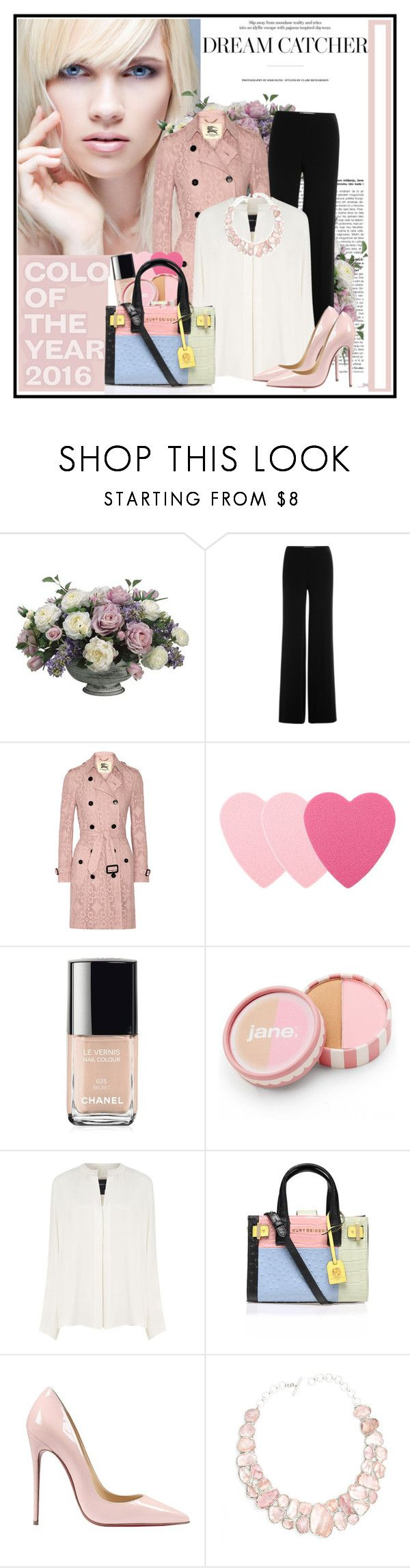 """Pretty Pastel Trench Coats..."" by cindy88 ❤ liked on Polyvore featuring Allstate Floral, Diane Von Furstenberg, Burberry, Sephora Collection, Chanel, jane, Derek Lam, Kurt Geiger, Christian Louboutin and Poppy Jewellery"