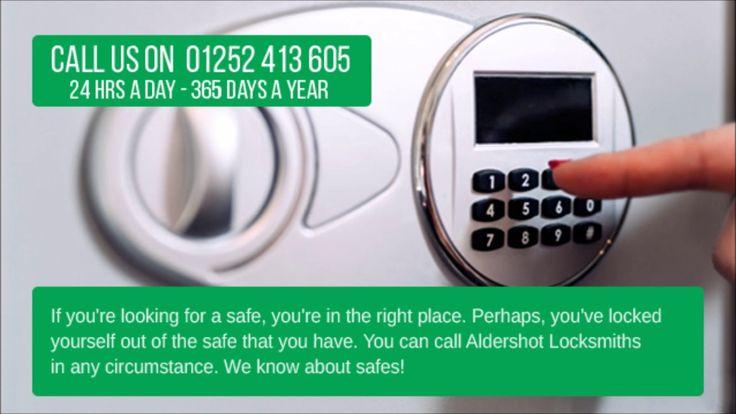 Aldershot Locksmiths - Commercial & Domestic Safes