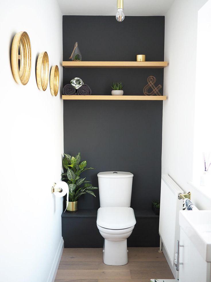 18 Charming Powder Room Ideen, die Ihre Gäste verzaubern werden
