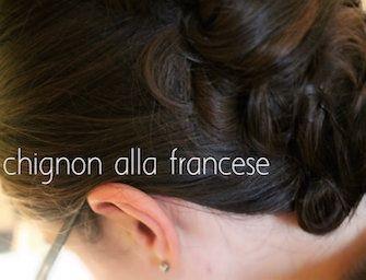 Lo chignon alla francese @DonnesulWeb http://www.donnesulweb.it/feste/natale-2014/acconciature-chignon-francese-ecco-come-si-fa.php