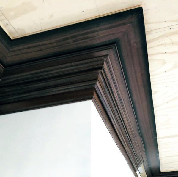 Top 70 Best Crown Molding Ideas Ceiling Interior Designs Wood Crown Molding Moldings And Trim Crown Molding Modern