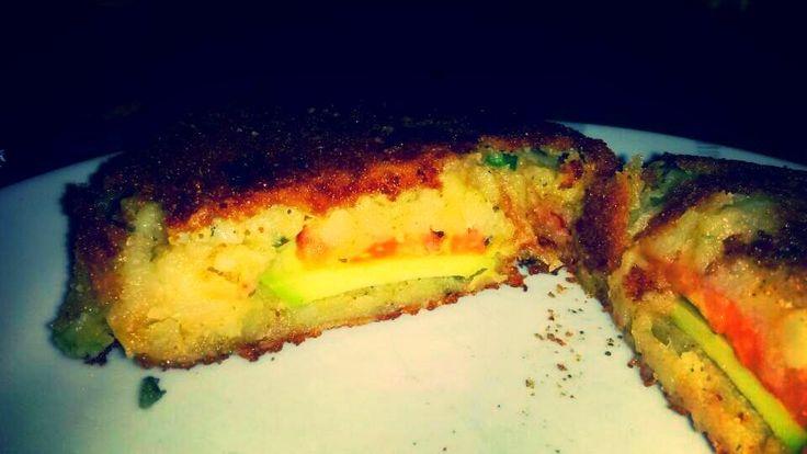 Vegane Küche - vegan kochen ist nicht schwer: Cordon Bleau vegan aus Kartoffeln