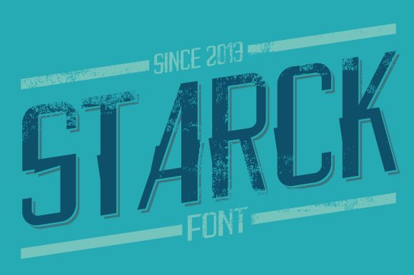 Starck Font by alit_design on Creative Market