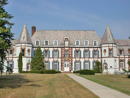 middlebury college | Le Château, Middlebury College, Middlebury, Vt.