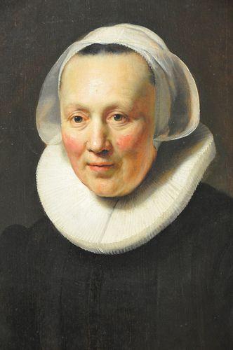 Rembrandt van Rijn - Portrait of a Woman, 1633, Metropolitan Art Museum, NYC