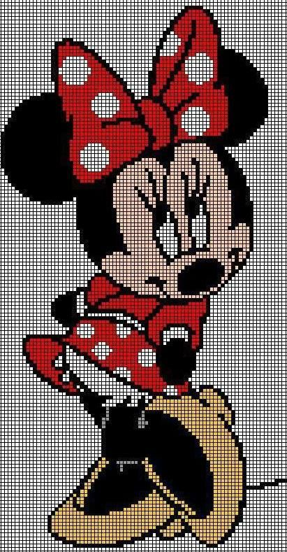 Minni :-) :-) :-) cross stitch