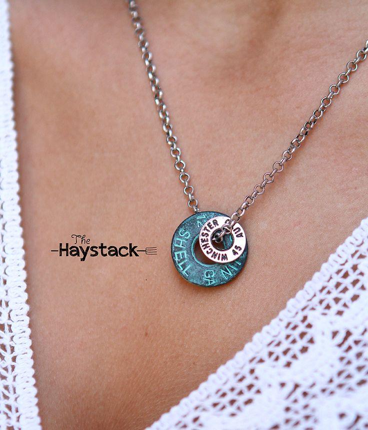 winchester charm necklace shotgun jewelry http www
