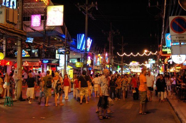 Bangla road, Phuket, Thailand