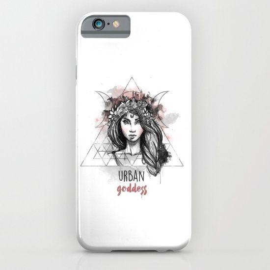 Urban Goddess iPhone & iPod Case by Erika Biro | Society6
