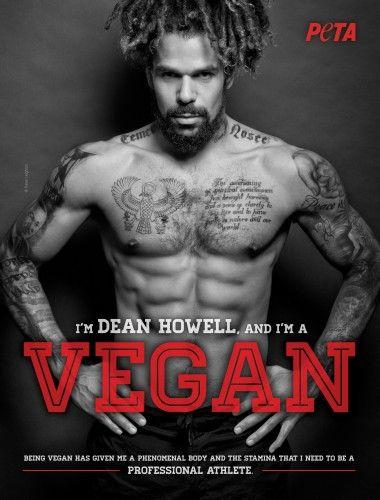 Vegan athlete Dean Howell