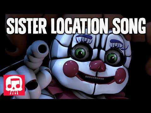 """FNAF SISTER LOCATION Song by JT Machinima - """"Join Us For A Bite"""" [SFM]"""