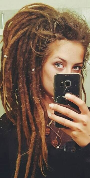 #Dreads #Dreadstyle #Hair the freedome of dreadlocks
