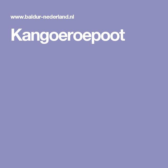 Kangoeroepoot