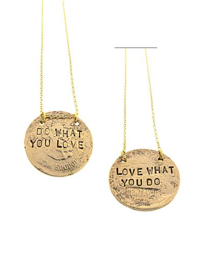 Love What You Do Necklace - JewelMint
