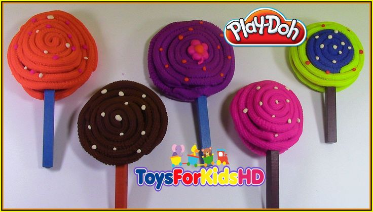 Play Doh Surprice lollipops -Play Doh Sorpresas de paletas -Peppa la cer...
